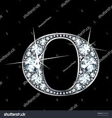 stunningly beautiful o set diamonds silver stock vector 82693750