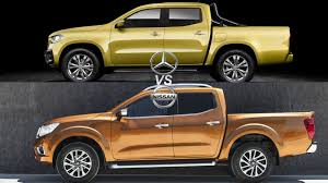 mercedes pickup mercedes benz x class vs nissan navara news top speed