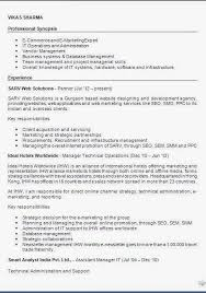 Resume Objective Examples For Any Job by Good Example Of Resume Sample Objective Great Resume Objective