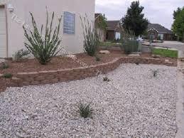 terraced desert southwest front yard design