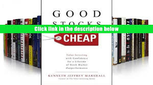 pdf good stocks cheap value investing with confidence for a