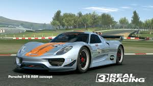 porsche concept porsche 918 rsr concept real racing 3 wiki fandom powered by wikia