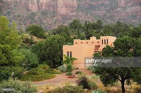 Santa Fe Style House Santa Fe House Stock Photos And Pictures Getty Images