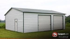 Building A Two Car Garage Two Car Metal Garage 24 U0027 X 31 U0027 Shop Metal Buildings Online