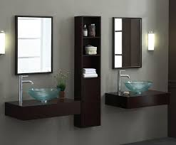 Xylem Vanities Modern 60 Inch Modular Bathroom Vanity Set Wall Mounted