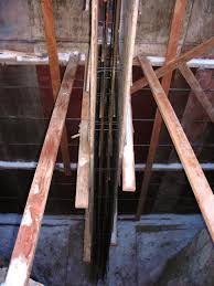 wall steel observation for hughes home with tall basement walls