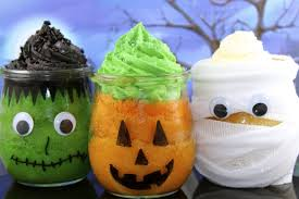 make halloween cupcake jars with mycupcakeaddiction and yoyomax12