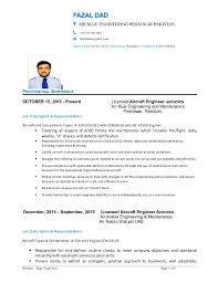 Resume For Airline Jobs by Maintenance Engineer Job Description Typical Career Path For A