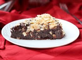flourless chocolate cake with ganache and coconut rachel cooks
