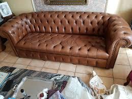 canape chesterfield cuir occasion canapés chesterfield occasion annonces achat et vente de canapés