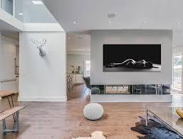 white interiors in this toronto home garden void house by alva