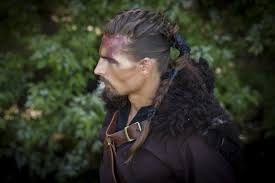 viking hairstyles vikings the best male hairmodels are transformed into vikings