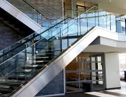 Frameless Glass Handrail Architectural Railing Systems Sc Railing Company