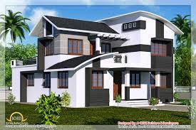 duplex villa elevation 2218 sq ft home appliance