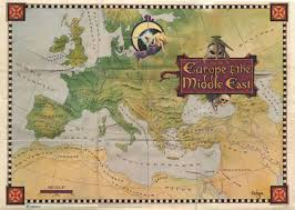 Middle East Map Game by Sierra Game Maps The Sierra Help Pages