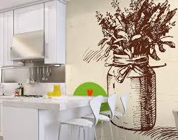 papier peint lessivable cuisine awesome decoration papier peint pour cuisine vue salle manger by