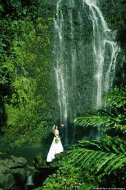 hawaii waterfall weddings 6 breathtaking places to get married in hawaii that aren t the