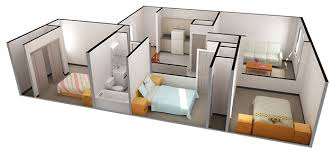 apartments with 3 bedrooms pictures 3 bedroom apartment free home designs photos
