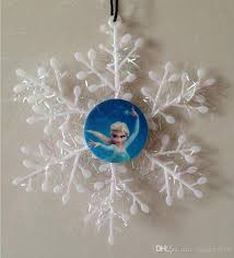 Frozen Christmas Decorations Frozen Character Snowflakes Christmas Tree Decorations Anna Elsa