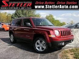 pre owned jeep patriot certified pre owned 2017 jeep patriot sport fwd for sale in york