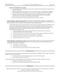 District Manager Resume Sample Examples Of Resumes Reasons This Is A Perfect Recent College Best