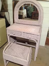 Wicker Vanity Set Wicker Vanity Set Furniture In Mount Prospect Il Offerup