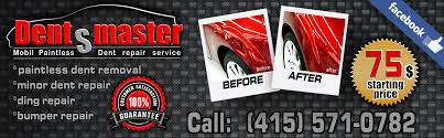 Dent Repair Estimate by Estimate Paintless Dent Removal San Francisco