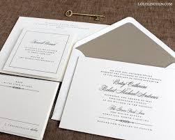 classic wedding invitations classic wedding invitations lilbibby