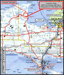 up michigan map michigan road map michigan map