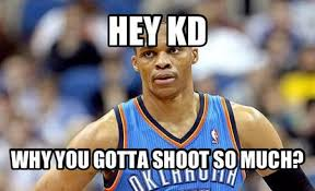 Kd Memes - check russell westbrook has no idea what a meme is complex