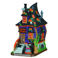 lemax spooky town lemax spooky town collection witches bungalow