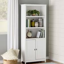 Glass Enclosed Bookcases Bookcases With Doors You U0027ll Love Wayfair