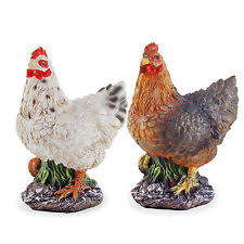 chicken ornaments ebay