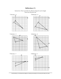 Common Core Math Worksheets Worksheet Reflections Geometry Laurelmacy Worksheets For