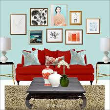 Bright Red Sofa My Decorator Talked Me Into Getting This New Sofa That U0027s Way Too