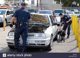u s customs and immigration agents at the tijuana mexico u s san