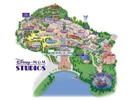 Map Of Universal Studios Orlando by Disney Mgm Studios Florida Theme Parks Com