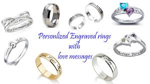 personalized engraved rings jewelry archives gifts and wish