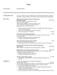 examples of resumes 93 enchanting good resume for highschool