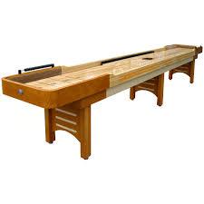 imperial 12 ft black shuffleboard table hayneedle