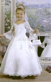 Flower Girls Dresses For Less - new wholesale flower girls u0027 dresses charming white girls dresses