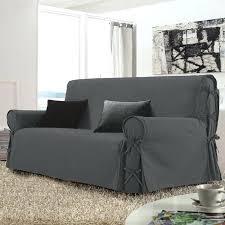housse de canapé trois places housses de canape 3 places housse de canapac 3 places stella gris