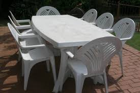 outdoor plastic chairs and tables designcorner