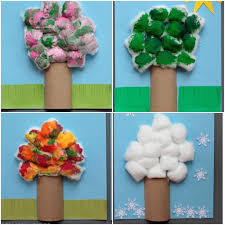 trees craft activity kiddiegram