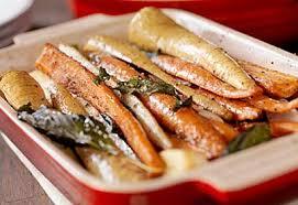 cuisiner panais carottes et panais glacés à l érable et à la moutarde recettes