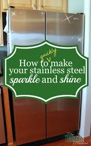 how to clean stainless steel the turquoise home