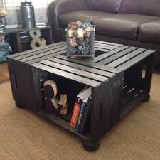 Wine Coffee Table Raised Wine Crate Coffee Table Sugar River Restoration