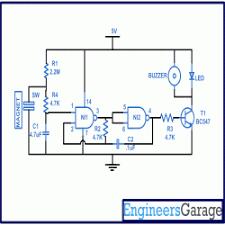 fridge refrigerator door alarm circuit diagram