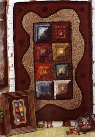 Christmas Rug Geometric Rug Hooking Patterns Roselawnlutheran