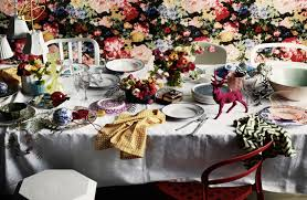 Dining Table Set Up Images Home Design Pretty Table Set Up For Christmas Exciting White